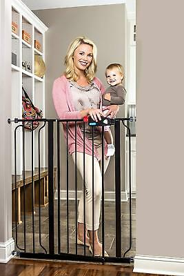 Regalo Easy Step Extra Tall Walk Thru Gate, Bonus Kit, Includes 6-Inch Extension