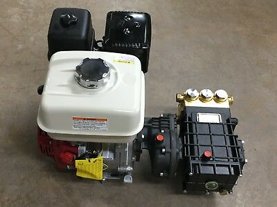 Honda GX270 With Pressure Washer Pump udor gamma/50b