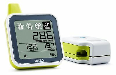 2 x ONZO Smart Energy Electricity Monitor Starter Packs Usage Meter  NEW F/F