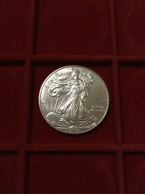 liberty eagle 2011  dollaro Oz argento 999