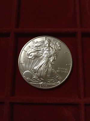 liberty eagle 2011 1 oncia dollaro argento 999