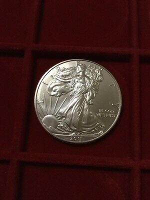 liberty eagle USA 2011 oncia dollaro argento 999