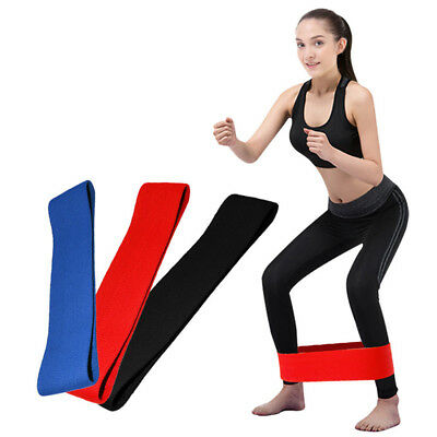 Hip Circle Band Fitness Elastic Band Hip Lifting Resistance Anti-slip Yoga Ba Ec