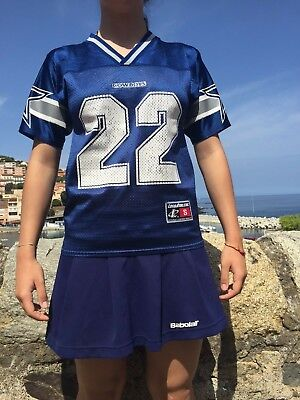 DALLAS COWBOYS Jersey Maillot Camiseta Smith #22 Logo Athletic Vintage NFL USA