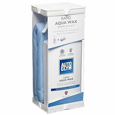 Autoglym Rapid Aqua Wax Kit