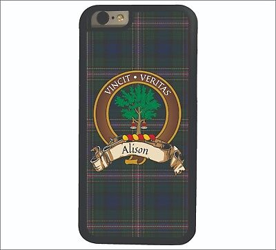 Alison Scottish Clan Tartan Apple iPhone 7/8  iPhone 7/8 Plus case