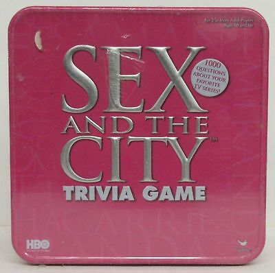 Sex And The CIty Trivia Game Tin - unopened