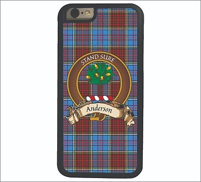 Anderson Scottish Clan Tartan Apple iPhone 6  iPhone 6 Plus case