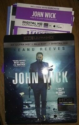 Digital UV codes from 4K sets (John wick, The Martian) - PLEASE READ!