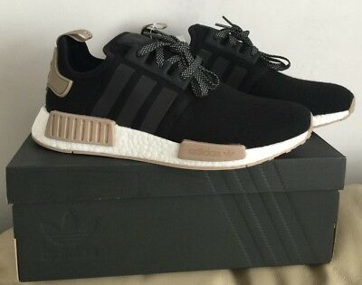 1187f434145 Adidas Nmd R1 Wool Black white trace Khaki (Cq0760) Men Trainers Various