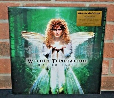 WITHIN TEMPTATION - Mother Earth, Ltd Import 180G 2LP COLORED VINYL #'d Sealed!