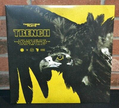 *TWENTY ONE PILOTS - Trench, Ltd 1st Press 2LP INDIE OLIVE COLORED VINYL NO HYPE