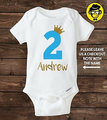 TWO YEAR OLD Custom Birthday Shirt Boy 2nd Birthday Shirt Second