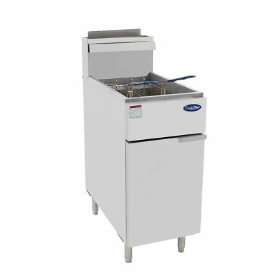 CookRite ATFS-40 Gas Fryer 26.4Lt NATorLPG 3 Tube Restaurant Cafe, Pitco Quality