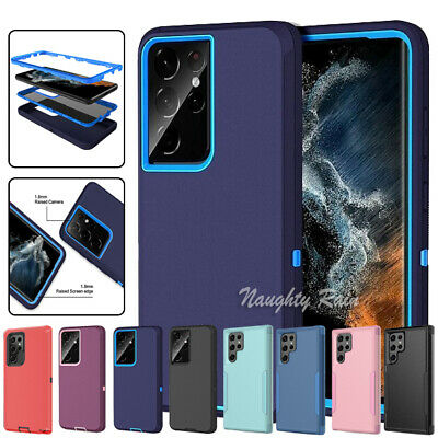 For Samsung Galaxy S10e S8 S9 S10 Plus Note 8 9 Shockproof Heavy Duty Case Cover