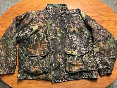 5d4e81f54bb77 MENS VINTAGE WOOLRICH Reversible Camo Hunting Jacket Coat Size Large ...