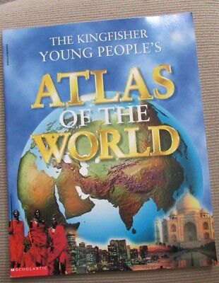 The Kingfisher Young People's Atlas of the World by Philip Steele and Miranda Sm