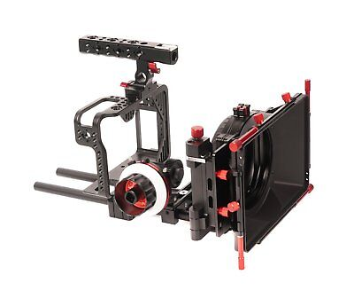 CAME-TV Protective Cage for Canon 5D w/ Mattebox Follow Focus