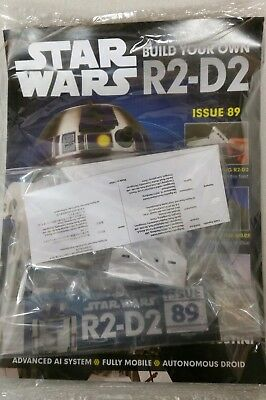 DeAgostini Star Wars Build Your Own R2-D2 Issue 89 NEW & SEALED