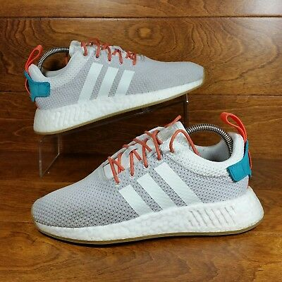 01d85ad2e7361 Adidas NMD R2 Summer (Women s Size 8.5) Crystal Orange (Men Size 7)