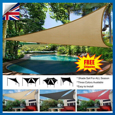 300D Waterproof Sun Shade Sail Outdoor Garden Canopy Patio Cover Sunscreen