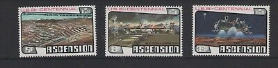 Ascension Island Apollo Soyuz Space Link 1975 Set Of Mint Stamp Free P&p