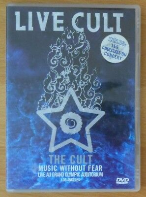 THE CULT - Music without fear - DVD live au Grand Olympic Auditorium