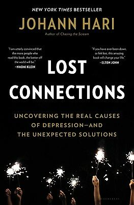 Lost Connections : Uncovering the Real Causes of Depression Audiobook (Mp3)