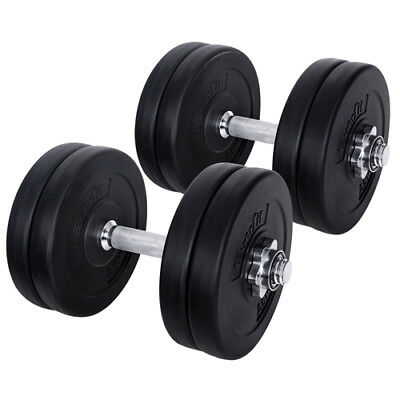 Everfit 25KG Dumbbell Set Weight Dumbbells Plates Home Gym Fitness Exercise