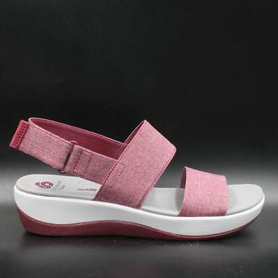 8d7bed51948 CLOUDSTEPPERS BY CLARKS Arla Jacory Women Sport Sandals Size 7M Fuchsia  Heather