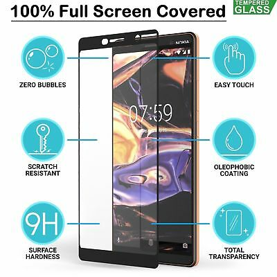For Nokia 8 Full Cover Tempered Glass Screen Protector Guard Film Shield