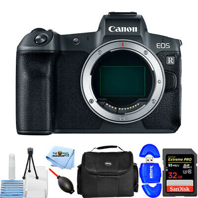 Canon EOS R Mirrorless 30.3MP UHD 4K Digital Camera (Body Only) STARTER BUNDLE