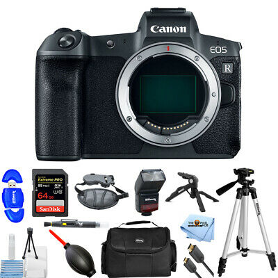 Canon EOS R Mirrorless 30.3MP UHD 4K Digital Camera (Body Only) PRO BUNDLE