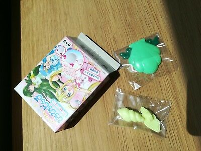 Pichi Pichi Pitch Mermaid Melody Rina Toin green earrings shell Cosplay + mirror