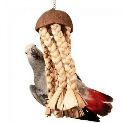 40cm Shred Me Jellyfish Parrot Bird Toy For African Greys Amazons Cockatoos 4117