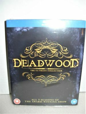 New Deadwood Blu Ray Ultimate Collection All 3 Seasons Hbo Region Free Sealed