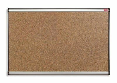 Aluminium Framed Cork Notice Boards / Cork Board 900 X 600 Office School Home