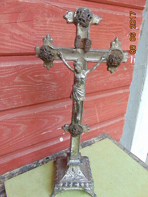 Very old silvered cross