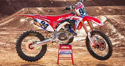 Honda Hrc Factory Team Graphics Kit Cr Crf All Years Models 85 125