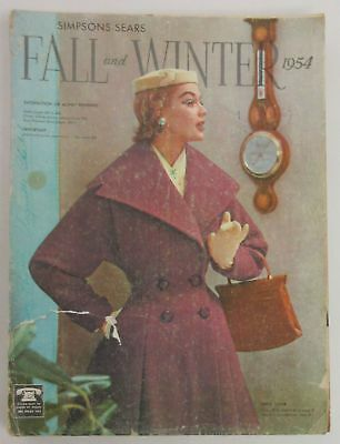 1954 Fall and Winter Simpsons-Sears Catalogue
