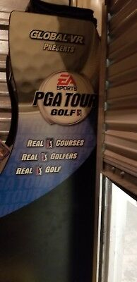 EA Sports PGA Tour Golf Tournament Challenge by Global VR (Arcade Game)