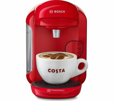 BOSCH by Bosch Vivy2 TAS1403GB Hot Drinks Machine - Red Brand New