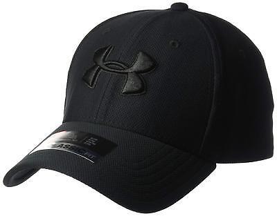 Under Armour Men s Blitzing 3.0 Cap Black Black (style 1305036) FREE POSTAGE fe0fbe2ba768