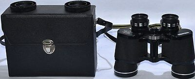 (532) Miranda 8 X 40 Binoculars With Wide Angle Field, Hard Protective Case