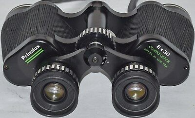 (538) Prinzlux 8X30 Binoculars With Field & Protective Case