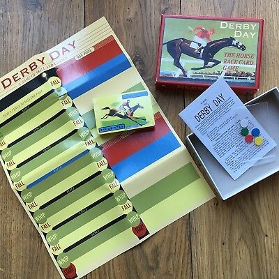 New Derby Day Race Horse Card Game Multi Player