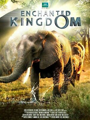 Enchanted Kingdom - BBC Earth / Nature (DVD, disk only) Narrated by Idris Elba