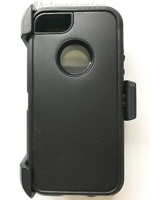 Case For iPhone 5/5S/SE Cover With (Clip Fits Otterbox Defender series) Black