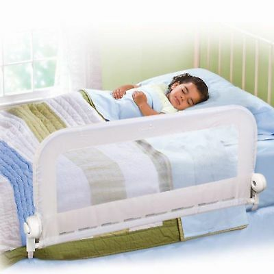 Summer Infant Grow With Me Single Bedrail Baby Kid's Bed Safety Guard Rail White