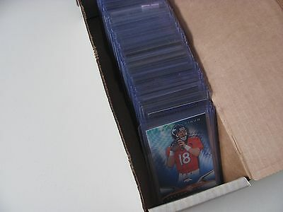 HUGE Football Card Lot RC's Auto Jersey #'ed RARE! Fantastic Deal! Free Shipping